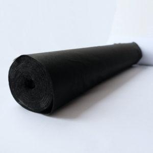Флизелин 45г/м², нитепрошивной, чёрный, ширина рулона 900мм, длина намотки рулона 100 метров, SL