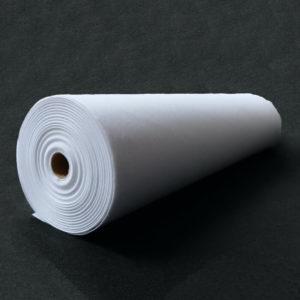 Флизелин 80г/м², неклеевой, отрезной, белый, ширина рулона 900мм, длина намотки рулона 100 метров, SL